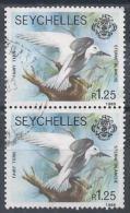 Seychelles N°682 Obl. Paire - Seychellen (1976-...)