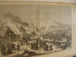 Die Kriegsschauplatz - Das Gefecht Bei Düppel  -Second Danish War  - DÜPPEL - Danmark  1864 ILZ1864.297 - Historical Documents
