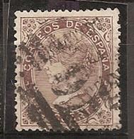 ESPAÑA 1868 - Edifil #101 Gobierno Provisional/Valladolid - VFU - 1868-70 Provisional Government