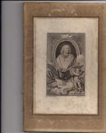 Estampe Portrait de Jacques B�nigne Bossuet �v�que de Meaux par le graveur Pierre Savard en 1773 peintre Rigaud