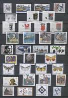 BRD Jahrgang 1992 Nr.1582-1644 Mit Nr.1583x + Y, Postfrisch - [7] Repubblica Federale