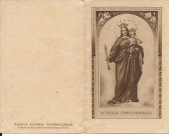 CAL006 - CALENDARIETTO 1932 -MARIA AUXILIUM CHRISTIANORUM - Petit Format : 1921-40