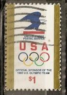 Etats-Unis USA 1991 Jeux Olympiques Obl - United States