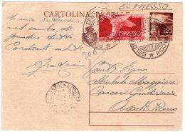 Cartolina Postale Espresso Per Lire 6.20 -VEDERE FOTO - - Storia Postale