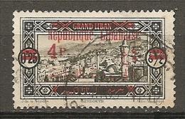GRAND LIBAN -  Yv. N° 119  (o)  4pi  S 0pi25 Cote  1,3 Euro  BE - Gross-Libanon (1924-1945)