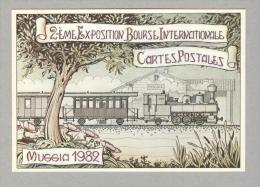 MUGGIA....1982...EXPOSITON....TRIESTE.. - Italy