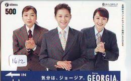Télécarte Japon * COCA COLA *  PHONECARD (1612) JAPAN *  COKE * GEORGIA - Advertising