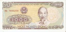 BILLETE DE VIETNAM DE 1000 DONG DEL AÑO 1988  (BANKNOTE) SIN CIRCULAR-UNCIRCULATED - Vietnam