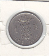 1 FRANC Cupro-nickel Baudouin I 1953 FL - 1951-1993: Baldovino I