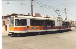 San Francisco Muni 1275 Boeing Vertol LRV Tram Postcard (T11645) - Buses & Coaches