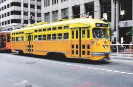 Muni 1052 Ex SEPTA 2010 Tram Postcard (T11644) - Buses & Coaches