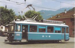 Bex Villars Bretaye BVB 15 Be2/3 Tram Postcard (T11641) - Buses & Coaches
