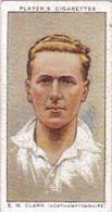 Player Vintage Cigarette Card Cricketers 1934 No 6 E W Clark