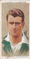 Player Vintage Cigarette Card Cricketers 1934 No 10 H H Gibbons