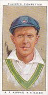 Player Vintage Cigarette Card Cricketers 1934 No 44 A F Kippax