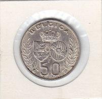 50 FRANCS Argent Mariage Royale 1960 LATIN - 1951-1993: Baudouin I