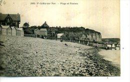 76 ST AUBIN SUR MER FALAISE ET PLAGE SAINT MARCHAND 2992 - Francia