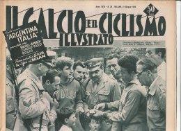 RA#33#71 IL CALCIO E IL CICLISMO ILL.n.26/GIUGNO 1956/BRASILE/COPPA CAMPIONI AL REAL MADRID/ATLETICO DI BILBAO/NIZZA - Altri