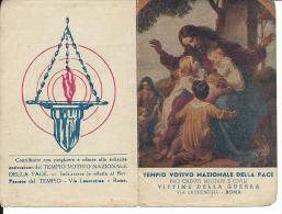 CAL043 - CALENDARIETTO 1949 -TEMPIO VOTIVO NAZIONALE DELLA PACE - Calendriers
