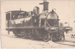 TRAIN LOCOMOTIVE   CARTE PHOTO - Eisenbahnen
