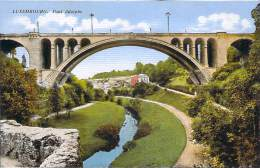 Luxembourg - Pont Adolphe (colorisée) - Luxembourg - Ville
