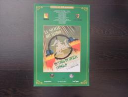 X MANIFESTO LA SICILIA DEI FLORIO 10^ GIRO DI SICILIA STORICO 1998 DIM. 33X47 RRR TARGA FLORIO - Manifesti