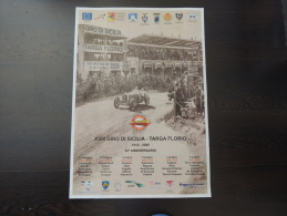 X MANIFESTO XVIII GIRO DI SICILIA TARGA FLORIO 2006 VCC PANORMUS 50X70 R - Manifesti