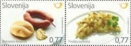 SI 2012-981-2 GASTRONOMIA, SLOVENIA, 1 X 2v, MNH - Ernährung