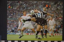 Photographie, Sports, Football, Photo De Presse L'Equipe Coupe D'europe 2003 à Manchester AC Milan / Juventus Turin - Sports