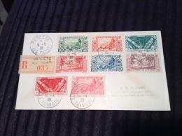 "Océanie Francaise ""BUREAU FLOTTANT TUAMOTU 1939"" S. Lettre. POSTE MARITIME TAHITI RRR ! (ship Mail Cover, Pearl, Perles) - Lettres & Documents"