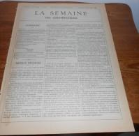 La Semaine Des Constructeurs. N°24. 11 Décembre1886. Ecole  De Garçons Et Ecole De Dessin, Rue Madame à Paris. - Livres, BD, Revues