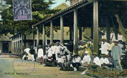 Polynésie - Marché PAPEETE  - TAHITI - 1907 - Polynésie Française