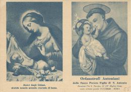 CAL055 - CALENDARIETTO 1955 - ORFANATROFI ANTONIANI - Calendriers