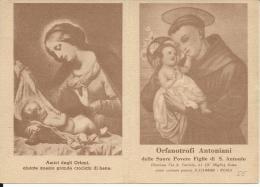 CAL058 - CALENDARIETTO 1955 - ORFANATROFI ANTONIANI - Tamaño Pequeño : 1941-60