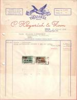 BELGIQUE - DEIINZE - TREKVOGEL DEINZE - AUTOCARS - TRANSPORT - C. HEYERICH & ZOOM - 1954 - Transports
