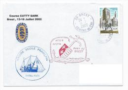 13082 - NAVIRE ECOLE RARA AVIS - PARTICIPATION A LA CUTTY SARK 2002 - Barcos