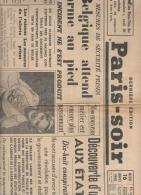 Paris-soir 16 Janvier 1940 Dernière édition - Journaux - Quotidiens