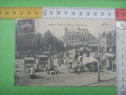 9 )59 Nord : Cambrai  :  Place Au Bois  ; Marche ::REPRODUCTION - Cambrai