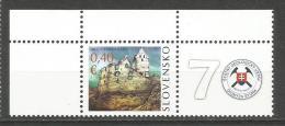 Slovakia 2010. Castle Topolcany And Geological Map Of Slovakia MNH** - Geology