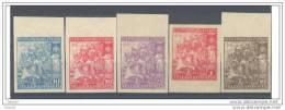ESBHT16-L3548TT.España .Spain .Espagne..BENEFICENCIA.H. De Telegrafos.1938. (Ed 16/20s**) Sin Charnela LUJO .RARO - Telegraph