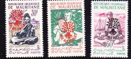 REPUBLIQUE ISLAMIQUE DE MAURITANIE-N° 154E -154F - +N° 154G-  COTE :38 € - Non Classés