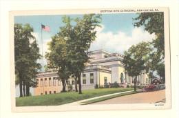 M13 Scottish Rite Cathedral New Castle Pennsylvania PA Postcard UNUSED - Etats-Unis