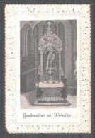 Heiligenbild Wemding, Gnadenaltar Zu Wemding Avec Jungrau Maria Und Jesuskind, Drei Gebete Rückseitig - Devotion Images