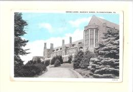M15 Grand Lodge Hall Masonic Homes Elizabethtown Pennsylvania PA USED - Etats-Unis