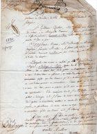VP51 - PARIS X LAGNY 1790 - Acte De Decharge A Mr PAPIN - Seals Of Generality