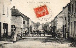 GENOUILLY Avenue De La Gare - Frankrijk
