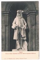 B1497 - Napoli - Palazzo Reale (facciata) Carlo III (scultore Belliazzi) - Napoli