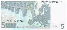 ITALIA 2002 Banconota €. 5 -E004C5- Nuova** Integra Mai Circolata - EURO