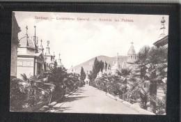 Santiago Chile Cementerio General Avenieda Las Palmas AK Um UNUSED - Chili