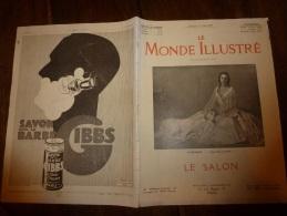 11.05.1929   LE MONDE ILLUSTRE : Le Salon ; - Other